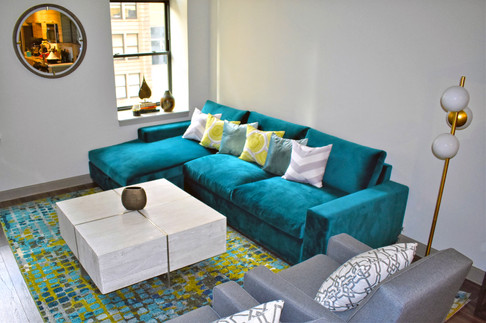 Bright Youthful Living Room