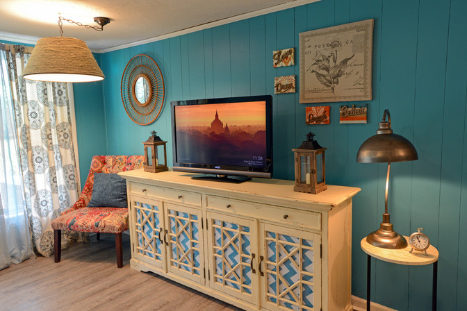 Coastal Vibe Basement