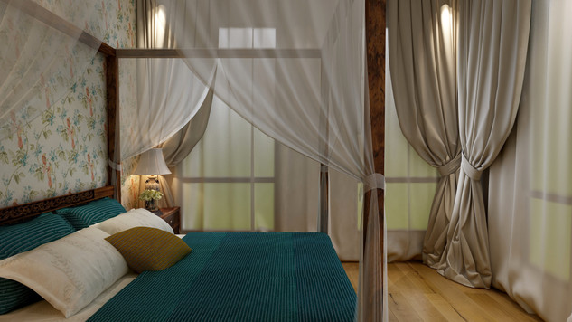 Nature Inspired Bedroom 3