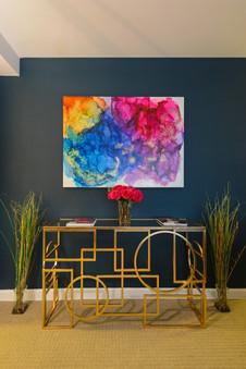 Colorful Entry Idea