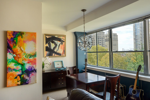 Abstract Dining Room
