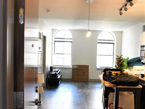 Living Area in Progress