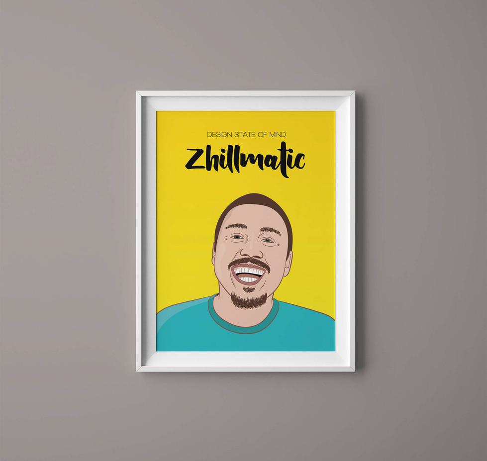 Cartoon Character Illustration - Zhile Ivanovic at Zhillmatic