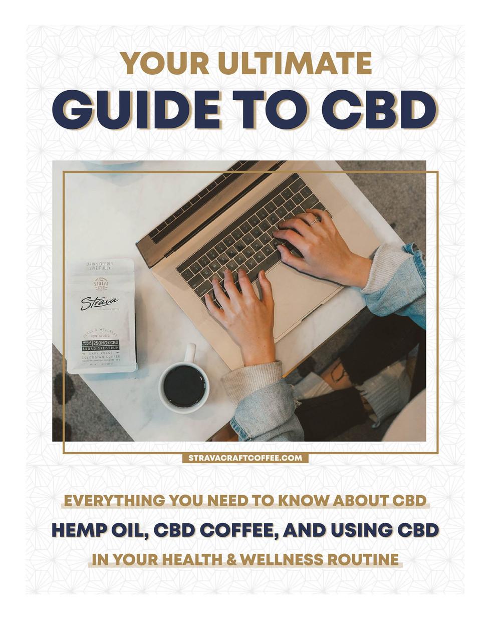Guide to CBD - Ebook Cover Design by Zhillmatic