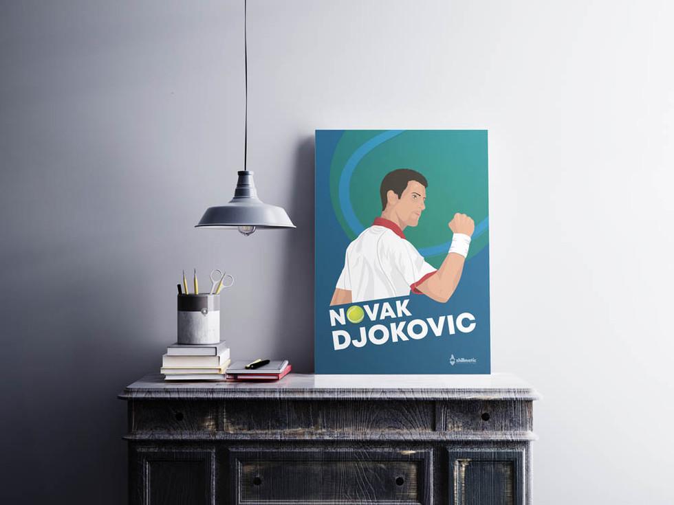 Poster-Design-Novak-Djokovic-By-Zhillmatic
