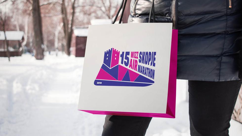 Logo Design Entry by Zhillmatic for Skopje Marathon 2019
