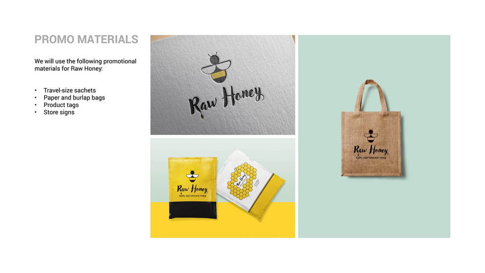 Brand Identity, Package Design, and Logo Design for Raw Honey by Zhillmatic