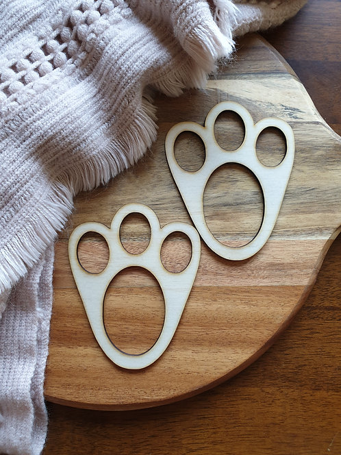 Easter Bunny paw set