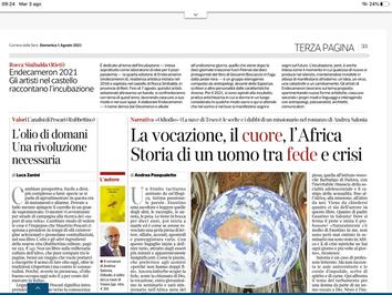Endecameron21 su Il Corriere della Sera