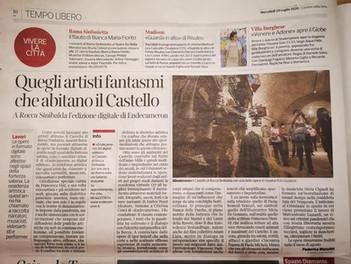 Endecameron 20 digital edition sul Corriere della Sera