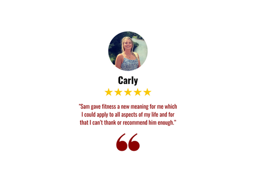 Carly Testimonial