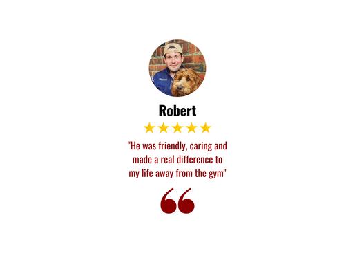 Robert Testimonial