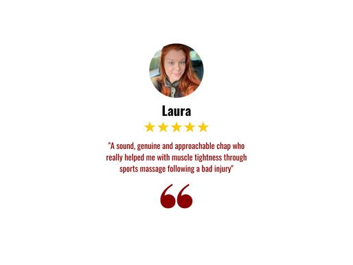 Laura Testimonial