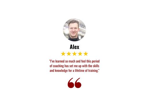 Alex Testimonial