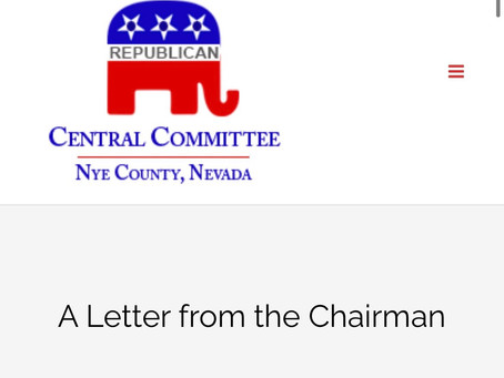 Must Read- A Letter From the Chairman