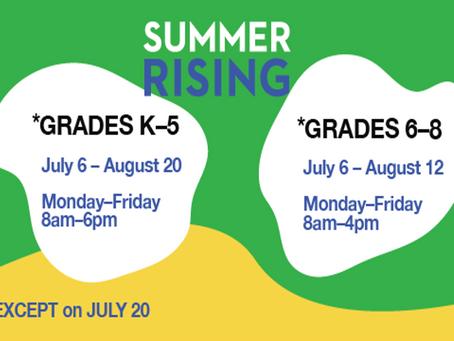 Summer Program for ALL Students!