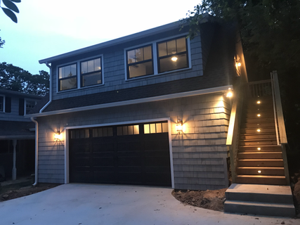 GARAGE ADDITION WITH UPSTAIRS APARTMENT