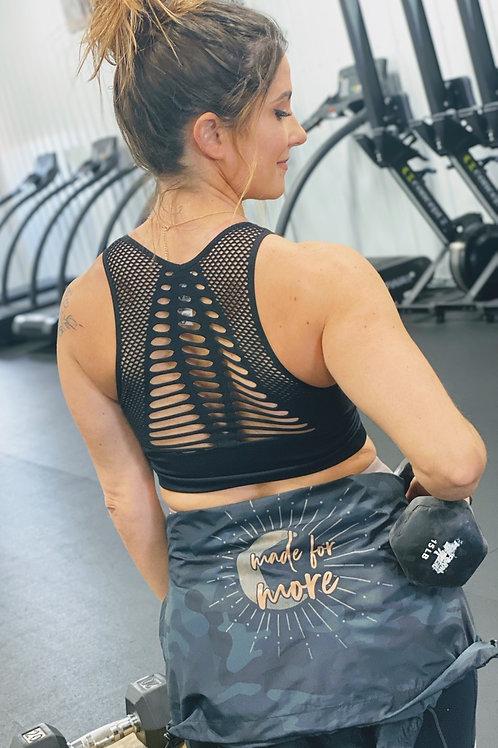 Laser Cut Sports bra