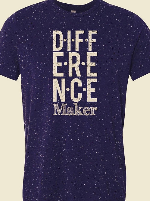 Difference Maker textured tee
