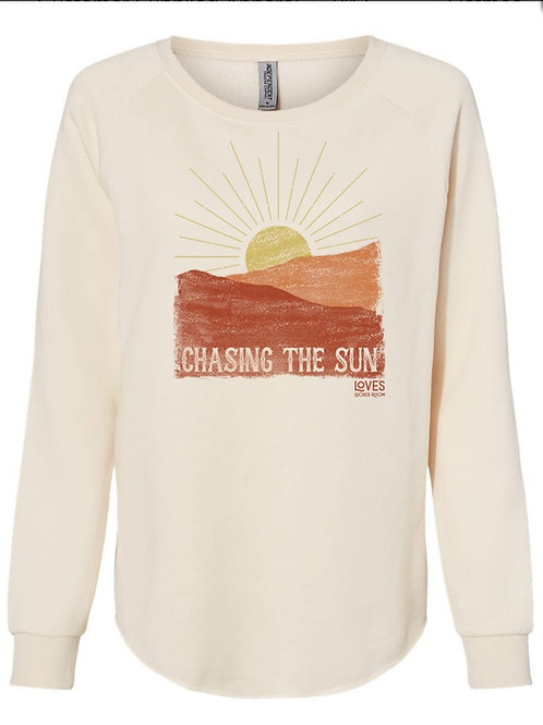 Chasing The Sun Women's Crewneck