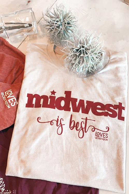Midwest is Best tee