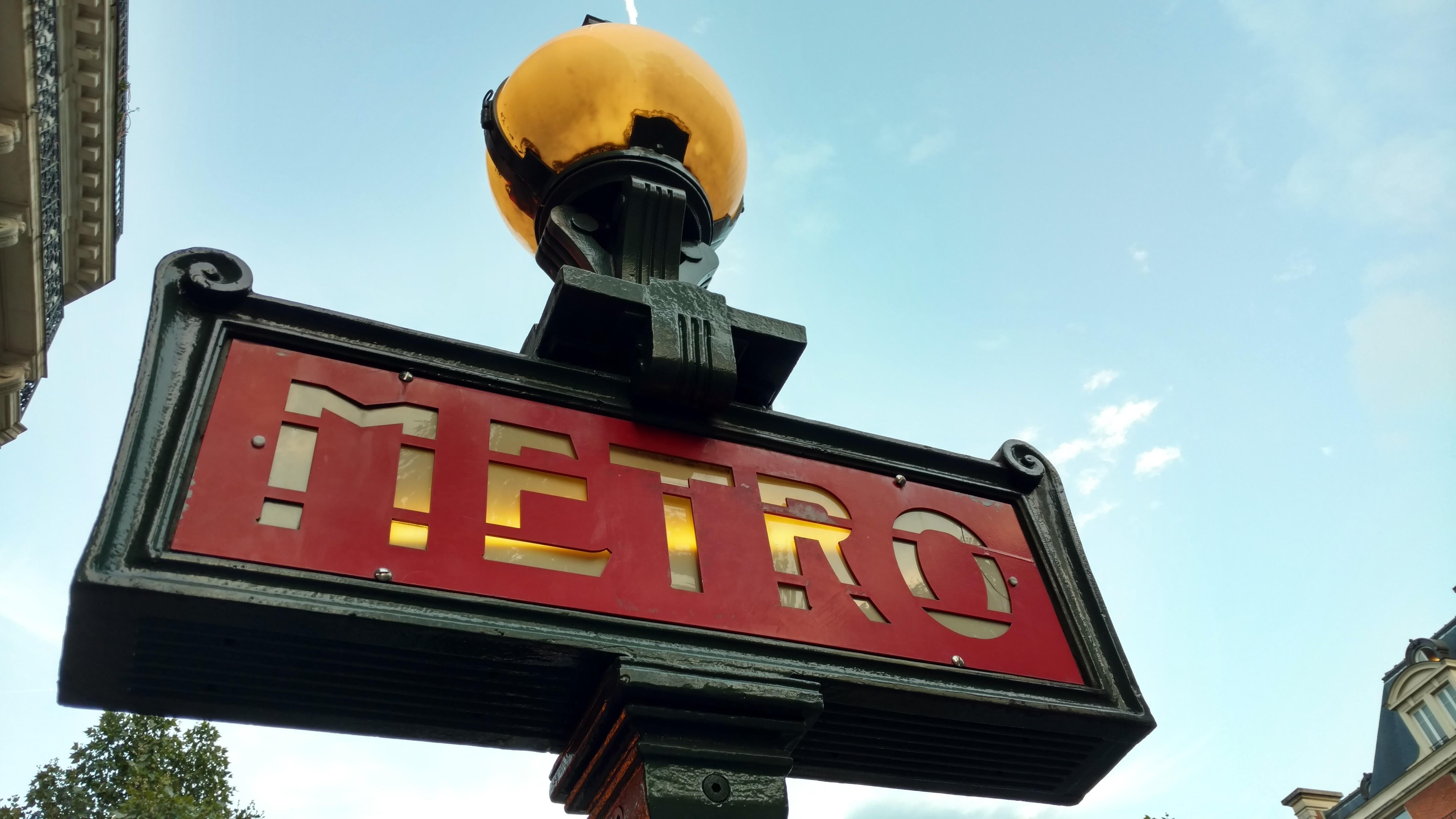 Metro Sign