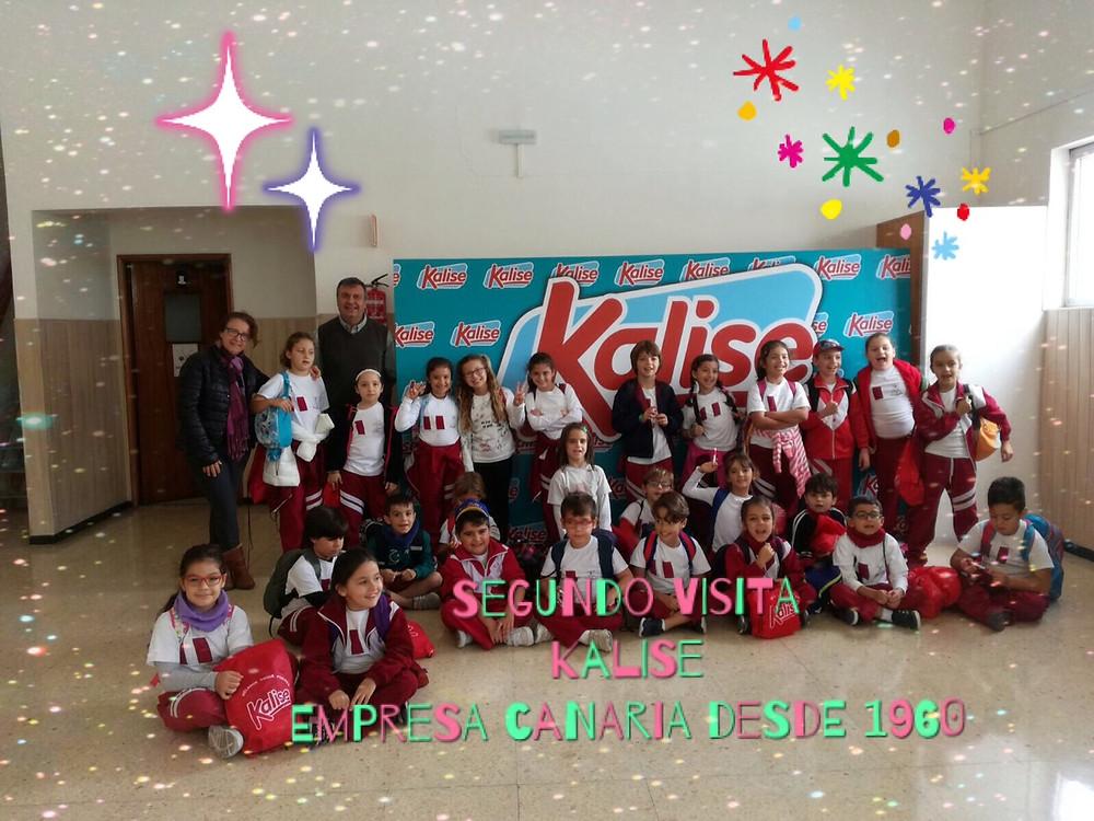 El día 12 de diciembre el alumnado de 2º nivel acudió a visitar la empresa canaria Kalise