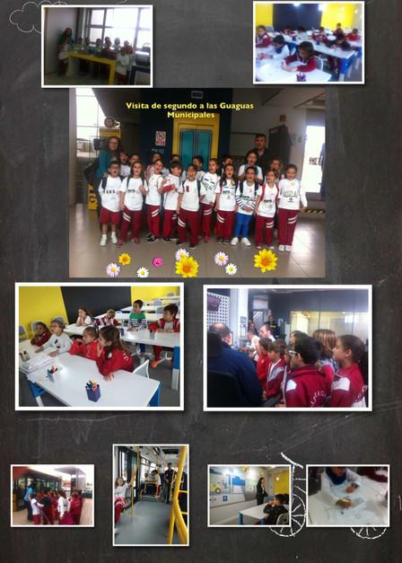 """Visita de 2º nivel a """"Guaguas municipales"""""""