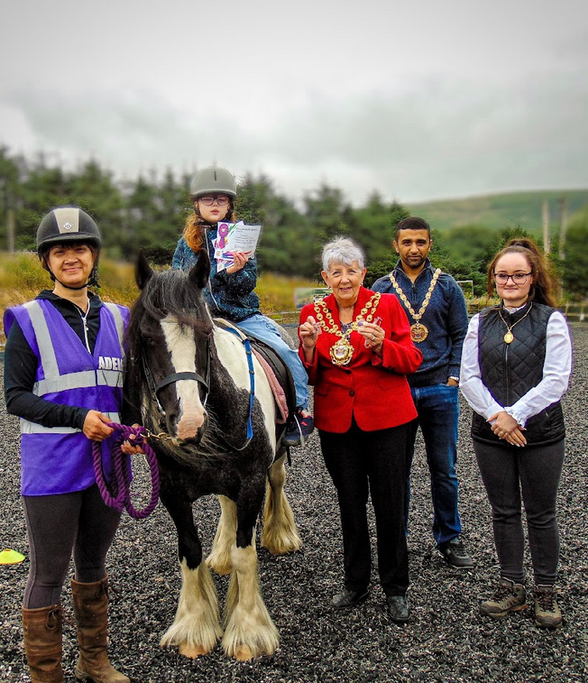 Special guests for Saddleworth RDA