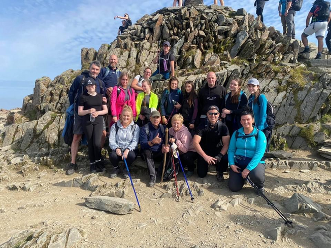 Climbing mountains for East Liverpool RDA!