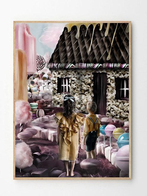 Hans og Grete / Hansel and Gretel