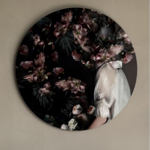Rosa - Circle Art