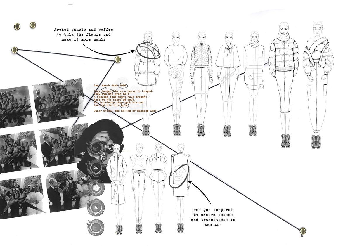 Initial design development cameo 4 Amy Brotherton Secondary Concept Design