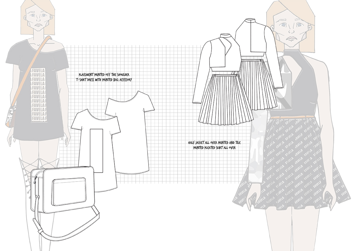 Graphics for Fashion Final Line up Flats 2 Amy Brotherton