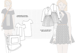 Graphics for Fashion Final Line up Flats
