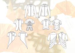 Amy Brotherton Size Zero Shirt Design Flats 1