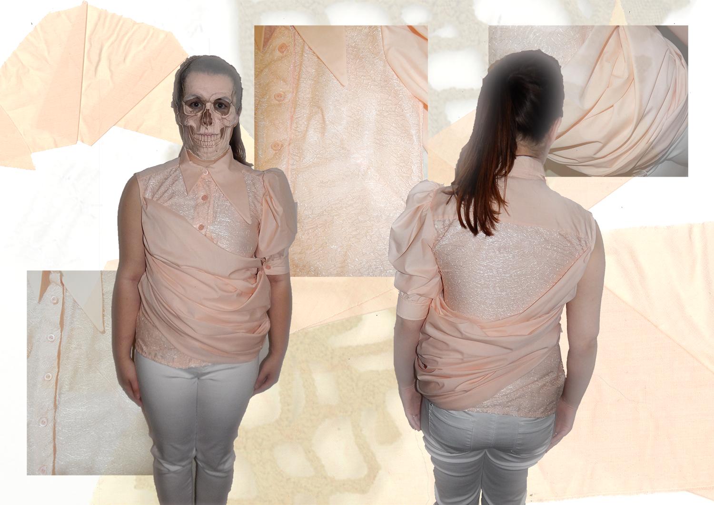 Amy Brotherton Size Zero Shirt Photoshoot 2
