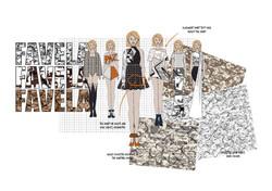 favela Graphics for Fashion Initial Desi