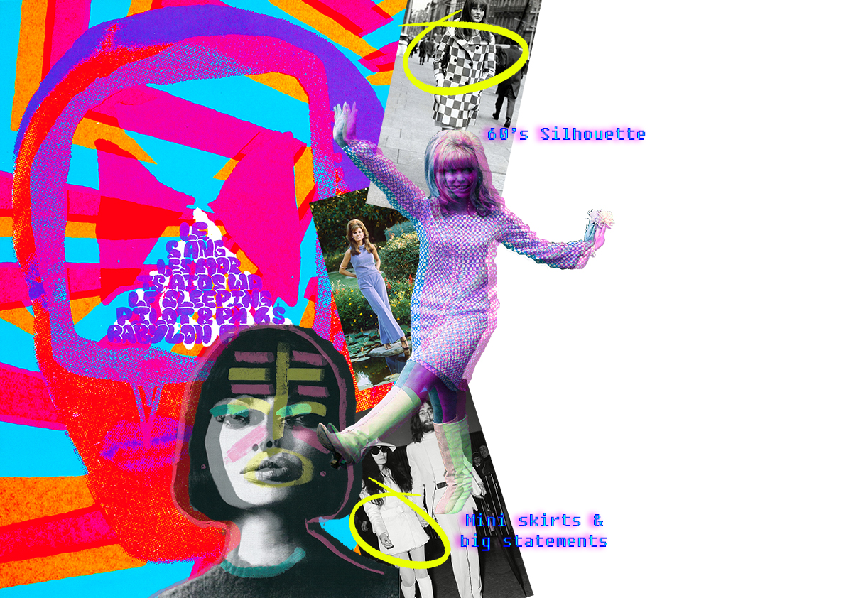 Graphics for Fashion Research silhouette Amy Brotherton