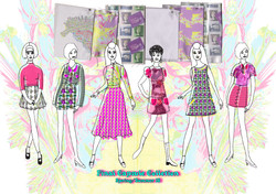 Final Line Up Kitsch Graphics for Fashions Amy Brotherton