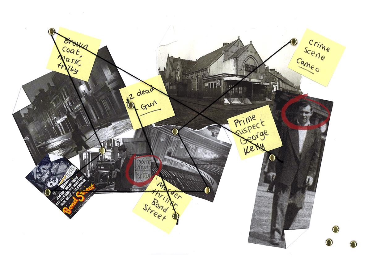 Crime Cameo Amy Brotherton Secondary Concept Design