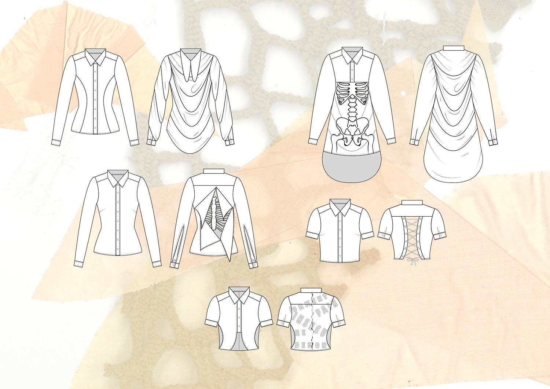 Amy Brotherton Size Zero Shirt Design Flats 2