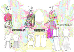 Hooked on a feeling Final flats line up Graphics for Fashion Amy Brotherton 1