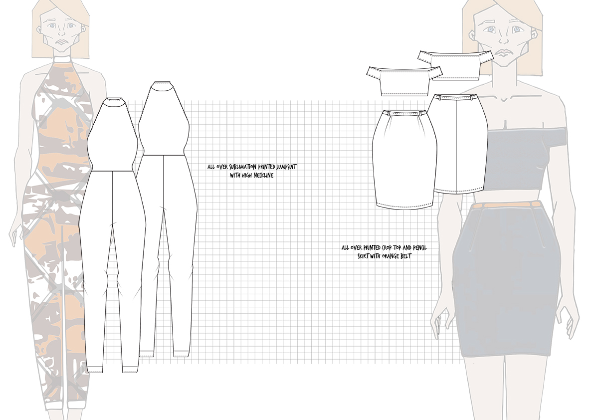 Graphics for Fashion Final Line up Flats 3 Amy Brotherton