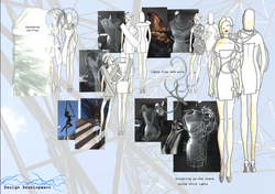 Amy Brotherton Fashion Designs Lone Frequency 2