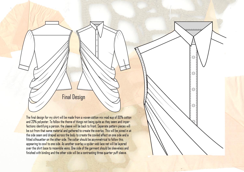 Amy Brotherton Size Zero Shirt Final Design Flat