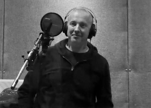 Jem putting a vocal down, Eiger Studio