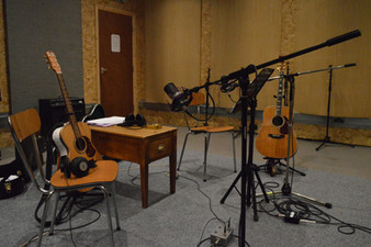 Setting up for Recording, Eiger Studios