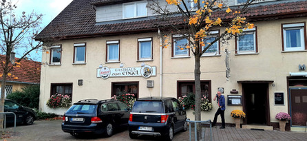 Our first gig in Germany at the Gasthaus Zum Engel  Brunnenstraße 14, 73035 Göppingen-Bartenbach