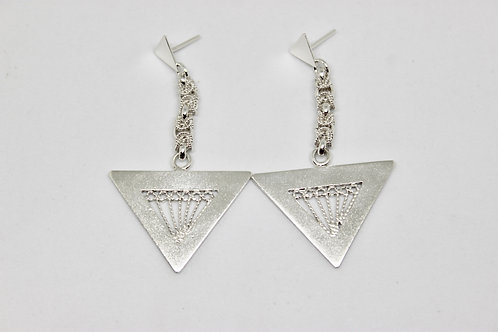 Queen of Triangle Earrings